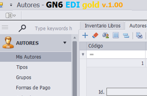 GN6 Software para Editoriales Un programa inteligente que se adapta a usted
